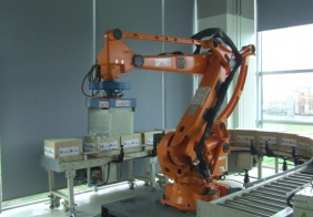 张家港全自动机器人码垛机
