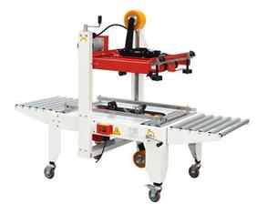 Semiautomatic sealing machine