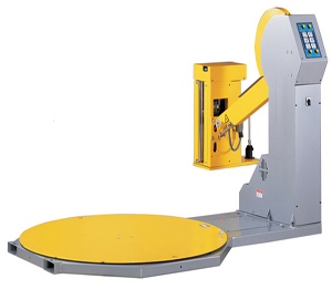 Fully automatic winding machine pre-stretch type