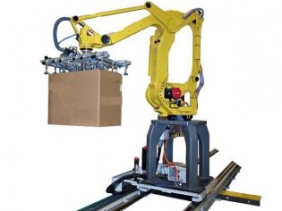 Fully automatic robot palletizer